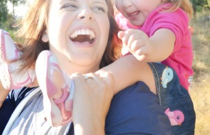 Danielle, who was born with cleft lip and palate, and her mom, Heather.