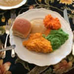 Pureed Thanksgiving Dinner